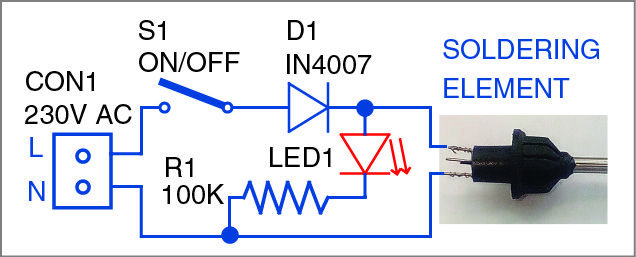 Micro Solder Pot Detailed Circuit Diagram Available Soldering Circuit Soldering Iron