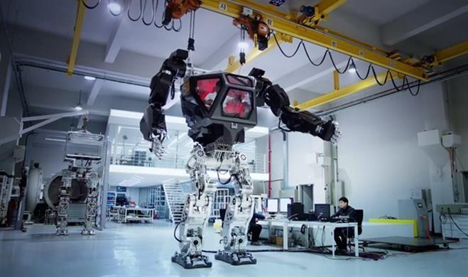 """Güney Kore'de robotlar hareketleniyor """"METHOD-1"""""""