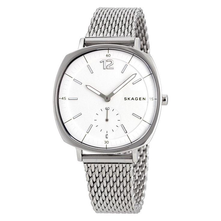 Skagen Rungsted Silver Dial Ladies Stainless Steel Watch SKW2402 - Skagen - Watches - Jomashop