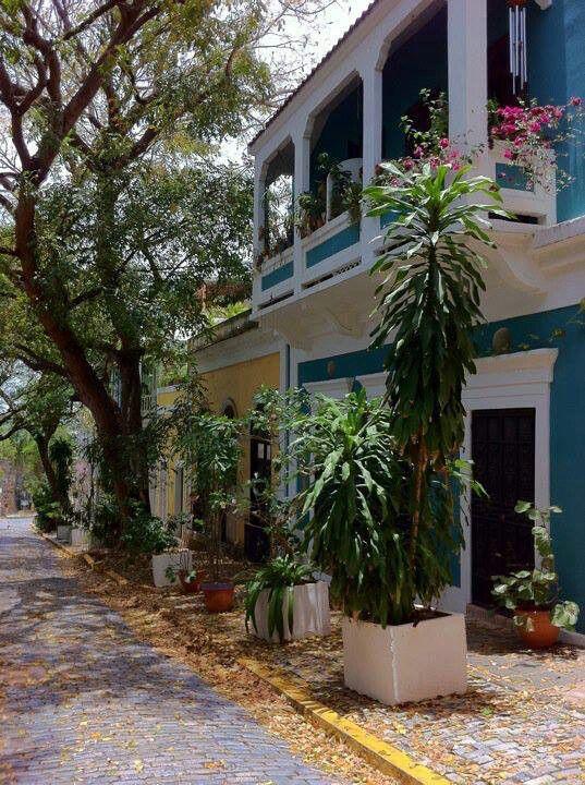 Old San Juan houses ....Puerto Rico   photo by Edin Verez