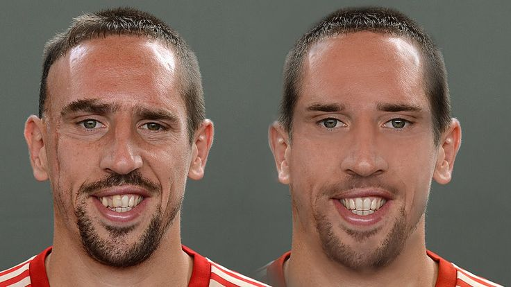 Franck Ribery - Extreme Makeover [Photoshop]
