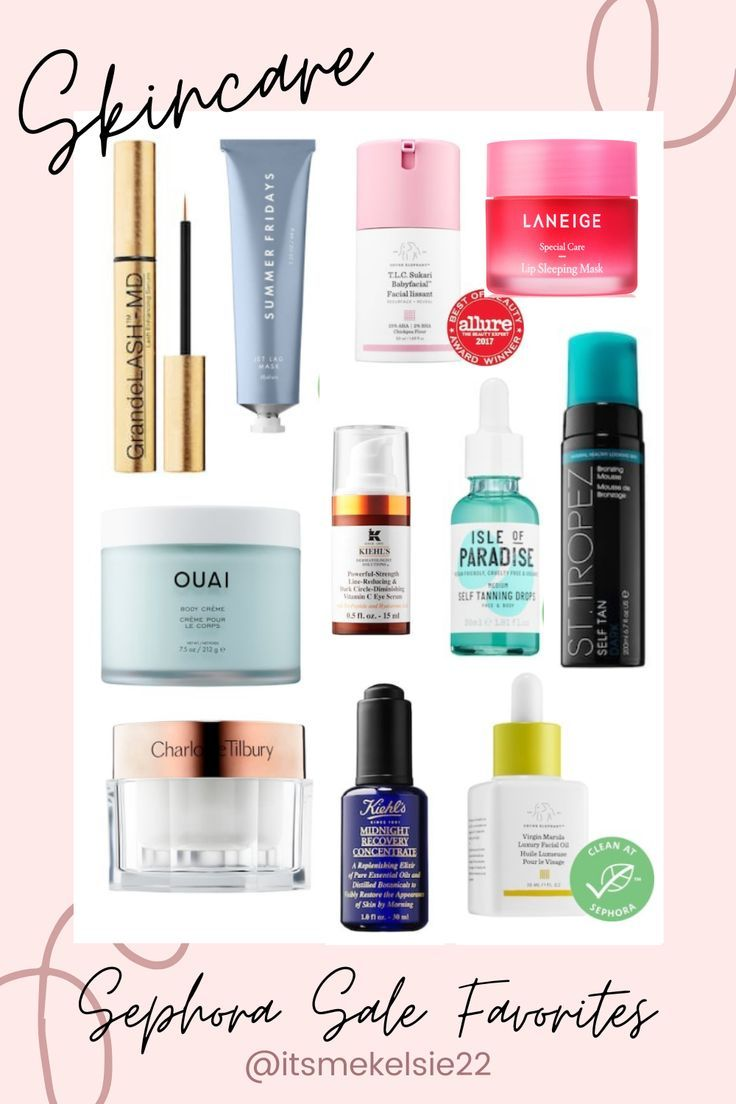 Sephora 2020 Spring Sale Skincare Picks Favorite Skincare Products Sephora Sale Skin Care