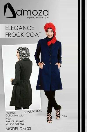 Baju Atasan Wanita Damoza for Women DM 003 Navy