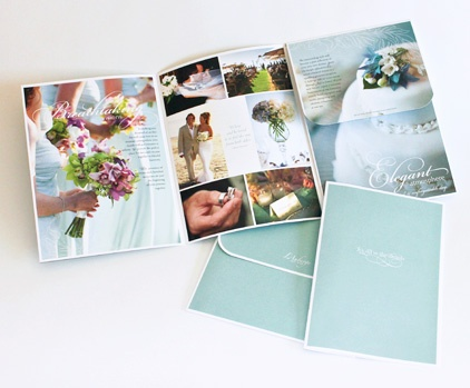 7 Best Wedding Brochure Images On Pinterest | Brochure Design