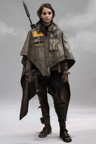 Star Wars Rogue One concept art