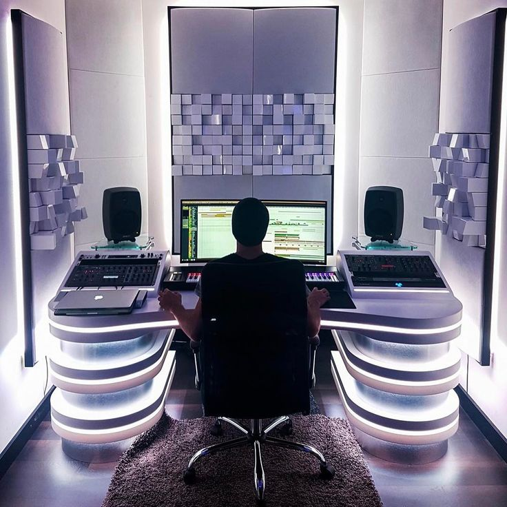 """2,586 Likes, 45 Comments - EDM STUDIO (@edm_studio) on Instagram: """"What would you do in a space like this?  @codeblackmedia Studio is so SICK """""""