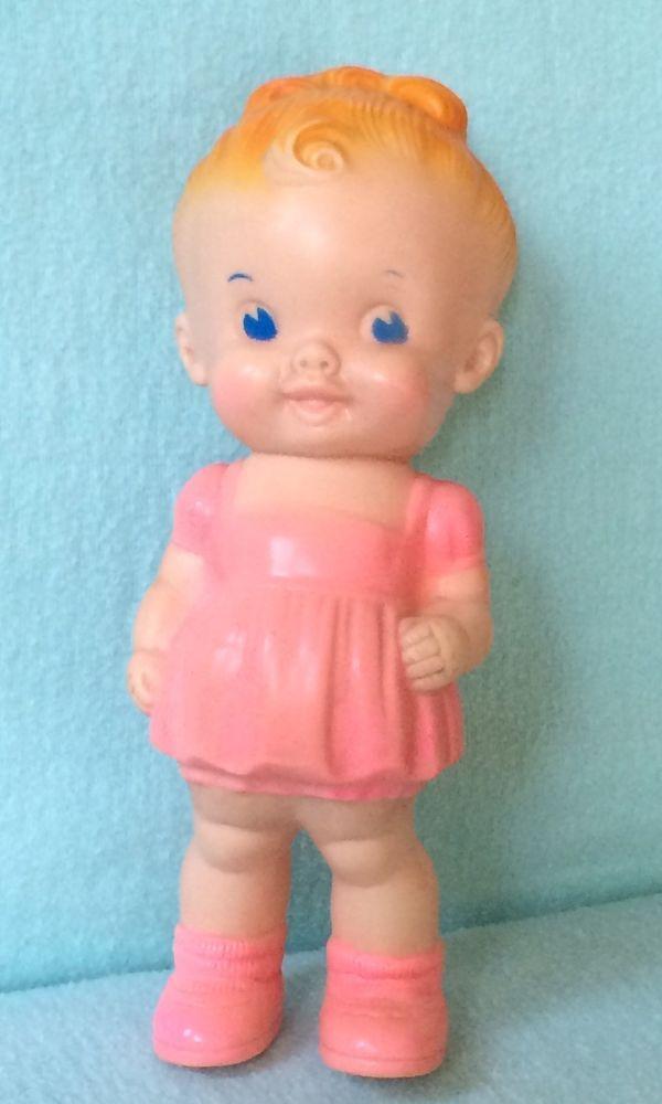 Vintage Vinyl Crying Baby Doll Vintage 60s 70s Vinyl