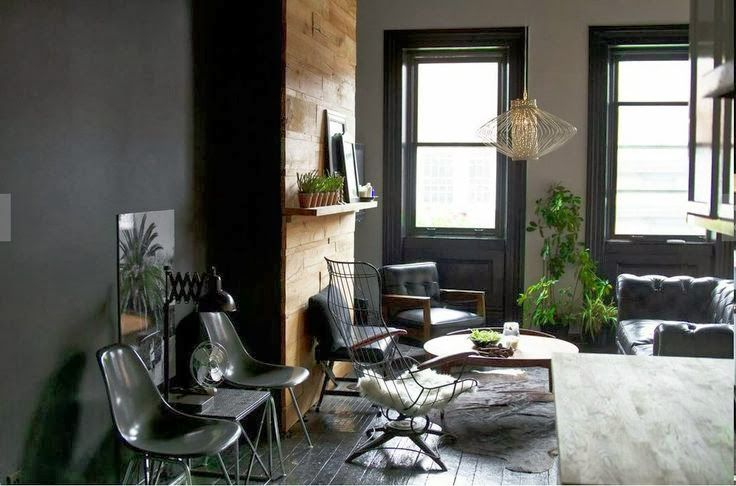 99 best images about dark interiors on pinterest dark for Greige interior design ideas and inspiration for the transitional home