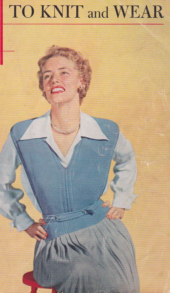 1950s Waist-length Jerkin