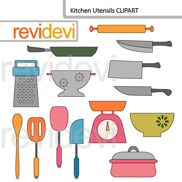 clipart kitchen utensils free - photo #33