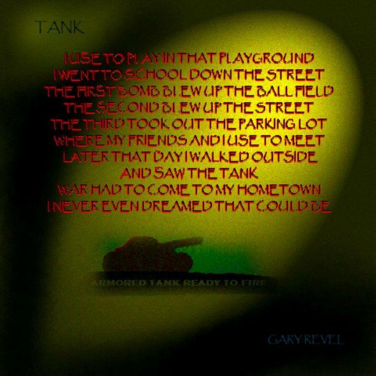 Tank by Gary Revel