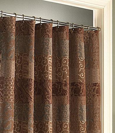 "croscill ""galleria"" brown shower curtain | dillards | for the"