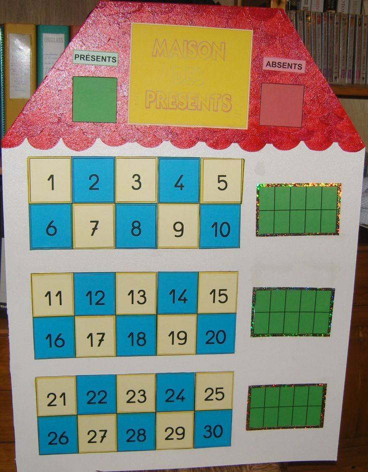 Le tableau de présences - Enseigner, jouer, conter...