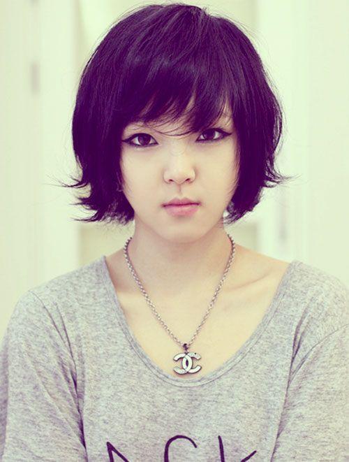 Short Hairstyles For Thin Asian Hair : Asian short hairstyles for women hair