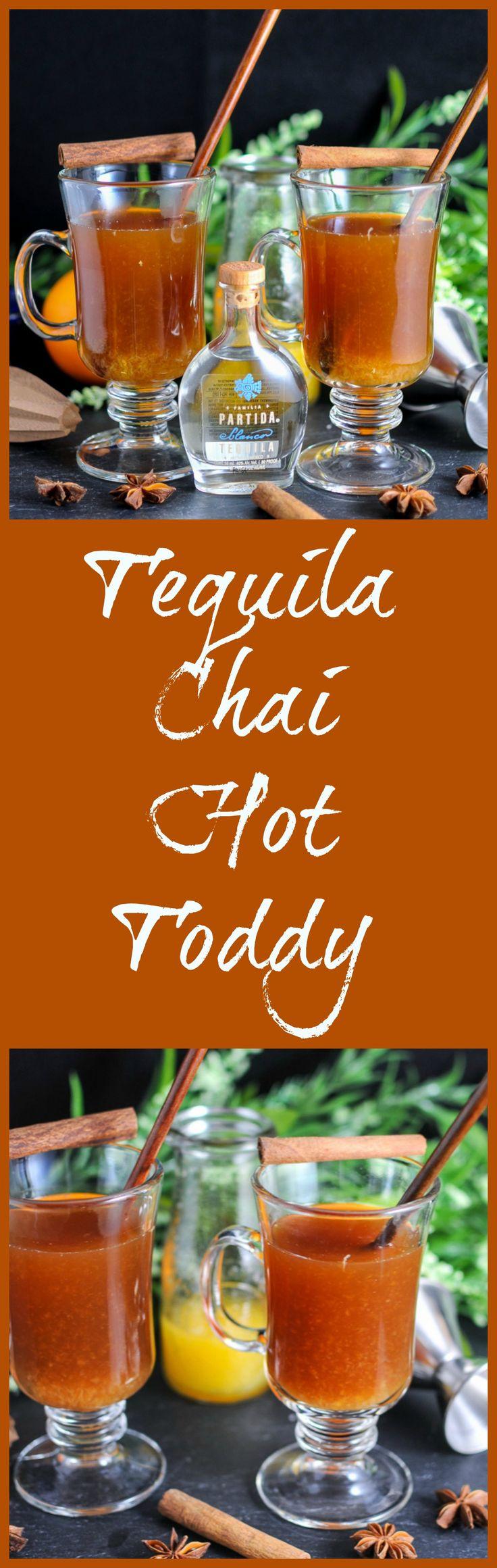 Tequila, Chai Tea, Orange juice, honey
