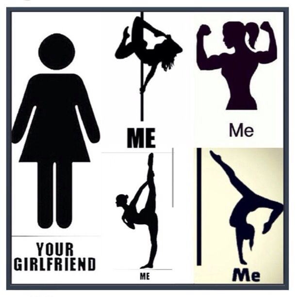 that's me XD .... not the splits but one day, even those