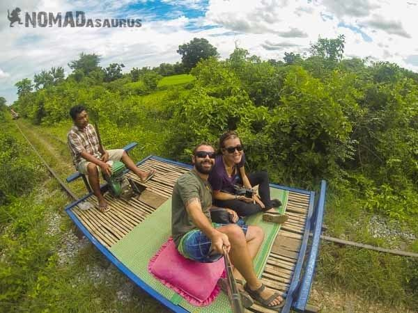 Bamboo Train Battambang Lesh Jazza NOMADasaurus