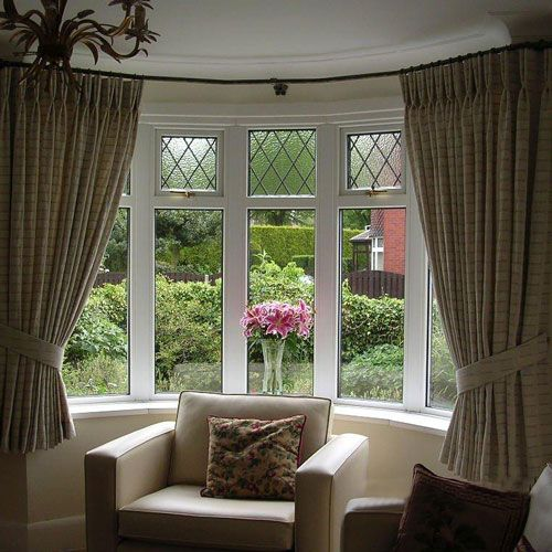 5 Curtain Ideas For Bay Windows Curtains Up Blog: ... Carpets & Curtains Company
