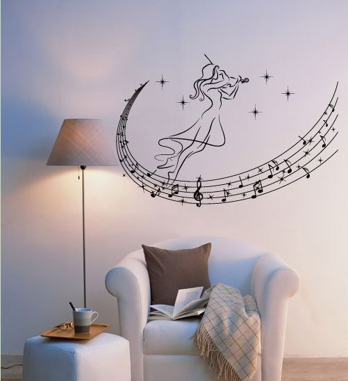 Best Music Wall Decals Images On Pinterest Music Wall Music - How do you install a wall decal suggestions