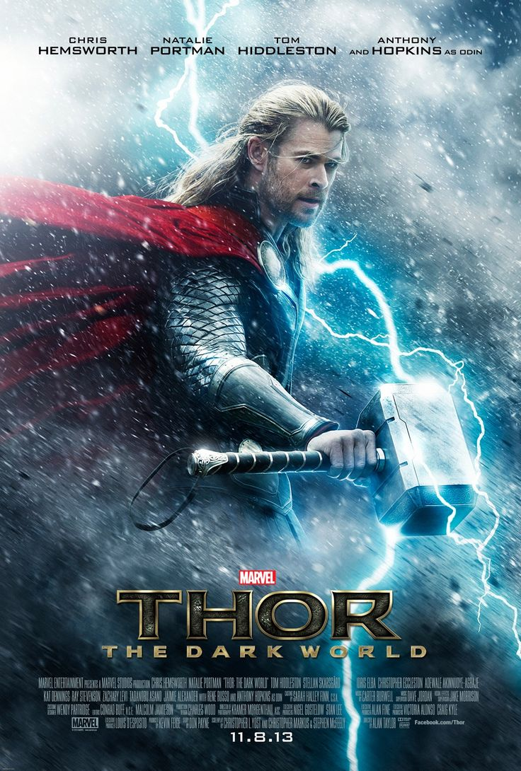 The new poster for Marvel's Thor: The Dark World is here!
