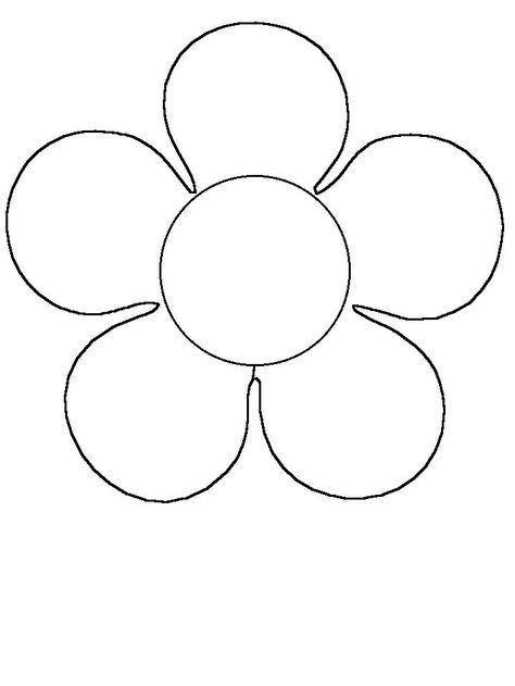 Tipos de Dibujos de flores para colorear e imprimir para niños ...