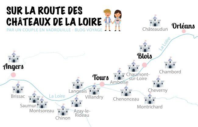 Visite des Châteaux de la Loire : de Chambord à Chenonceau   Chateau de la loire, Loire et Cheverny