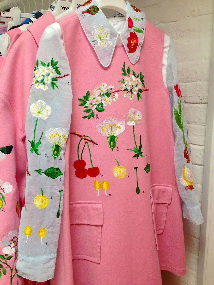 Alice in Wonderland: Some Spring 2015 Beauties from Bambah, Danielle Romeril, Meadham Kirchhoff, Orla Kiely, Paul & Joe, Pearly & Vivetta!