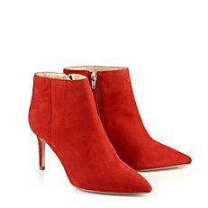 Buffalo Stiefelette aus rotem Wildleder!  #buffalo #booties #red #suede #leather #fashion #trend