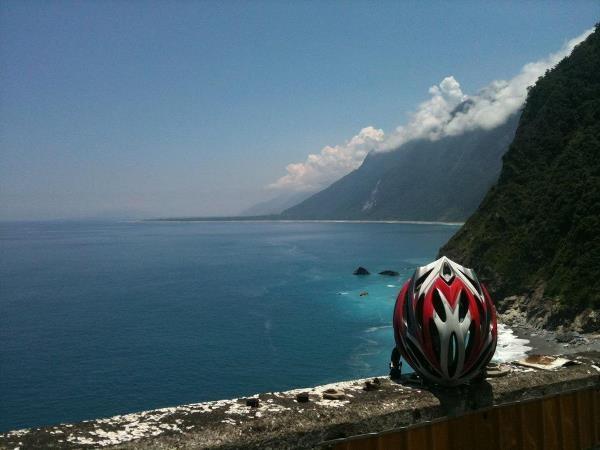 Great cliff in Eastern Taiwan