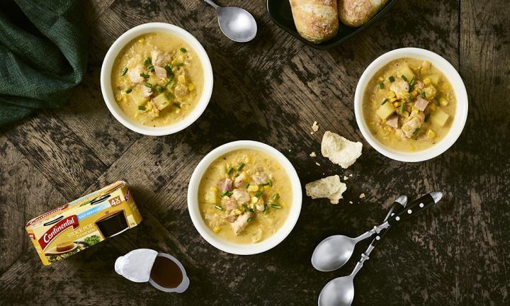 Chicken and corn soup - Kidspot