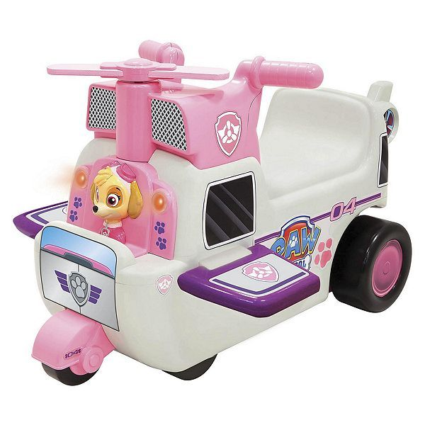 Tesco Direct Paw Patrol Skye High Flying Helicopter Ride On