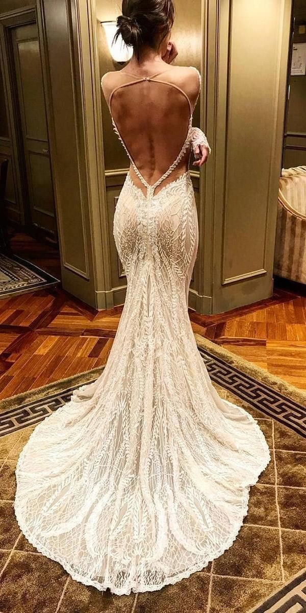 30 Mermaid Wedding Dresses You Admire ❤ mermaid wedding dresses open back ilus…
