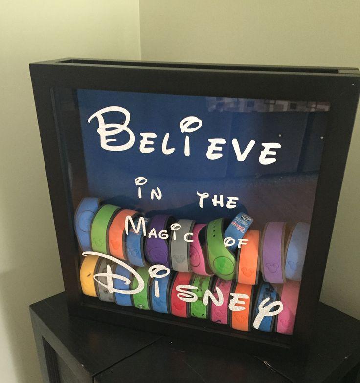 Disney Magic band shadow box
