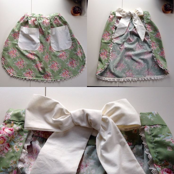 Creating vintage style aprons!