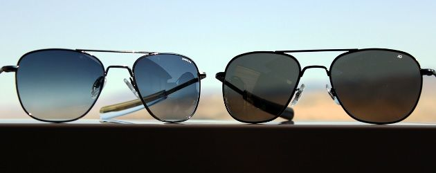 The Difference between Randolph Engineering and AO Sunglasses