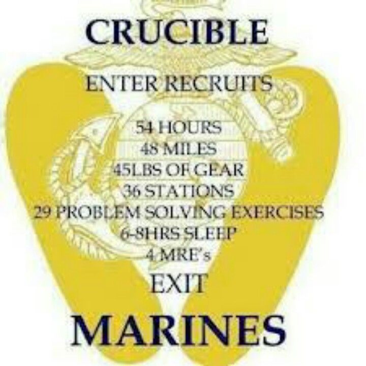 The Crucible | USMC! | Pinterest | Good job, The end and I ...