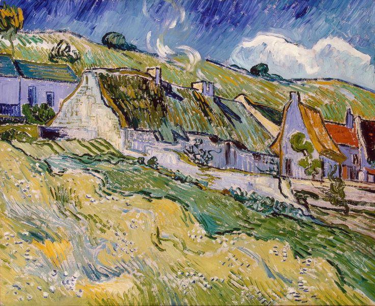 Ван Гог, Винсент - Хижины. часть 2 Эрмитаж. Описание картины, скачать репродукцию.