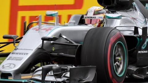 Lewis Hamilton on pole position in Australia after new F1 qualifying