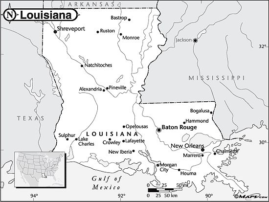 Best Project MB Images On Pinterest Maps Map Of Louisiana And - Blank louisiana physical map