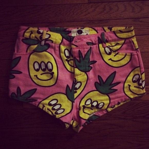 Lazy Oaf pineapple shorts Size medium lazy oaf Other