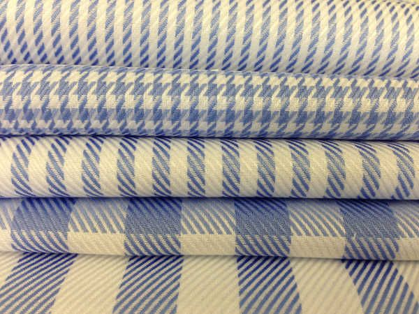 Burneside twill stripes and checks