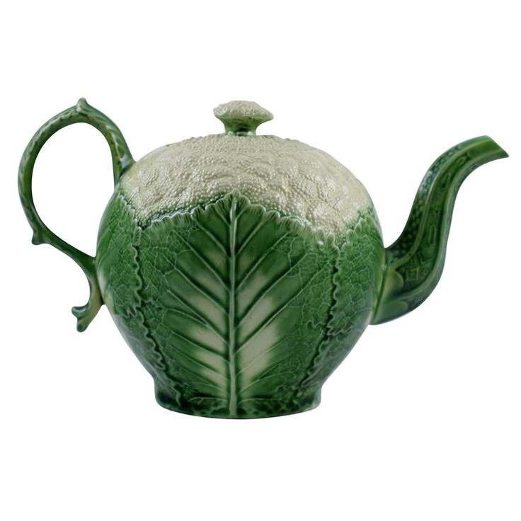 1stdibs   Wedgwood Cauliflower Teapot