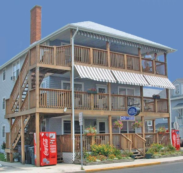Beach Houses For Rent In Ocean City: Beach Walk Hotel Ocean City MD The Place That Started It