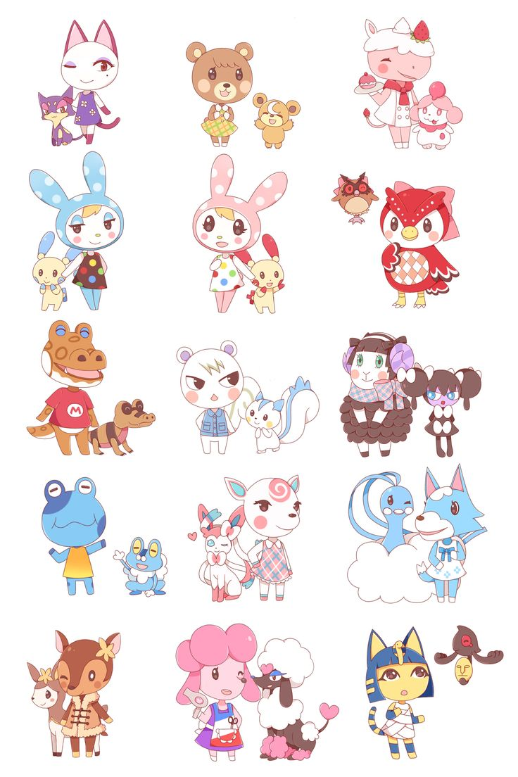 Best 31 Animal Crossing Francine and Chrissy images on ...