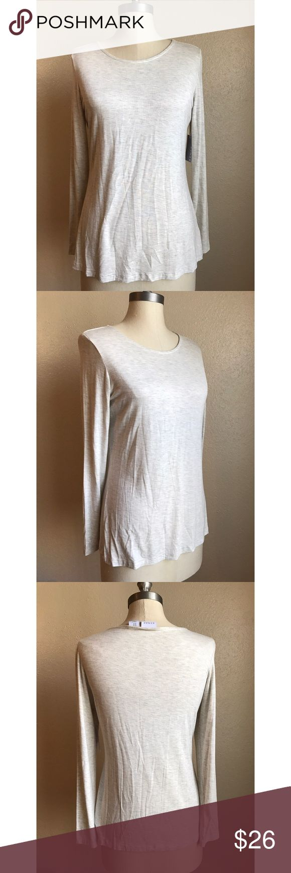 ❤️Kenar Long Sleeve Top❤️ New with tags. Beige long sleeve top. Size small. Kenar Tops Tees - Long Sleeve