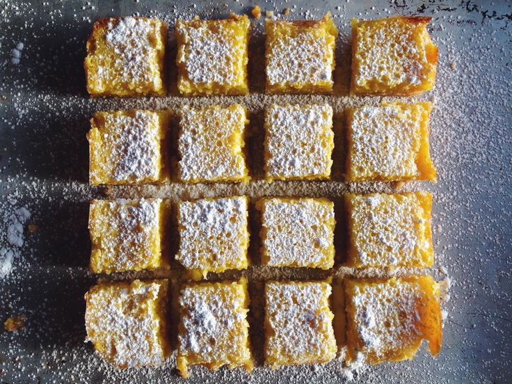 GF whole lemon bars | Recipes | Pinterest