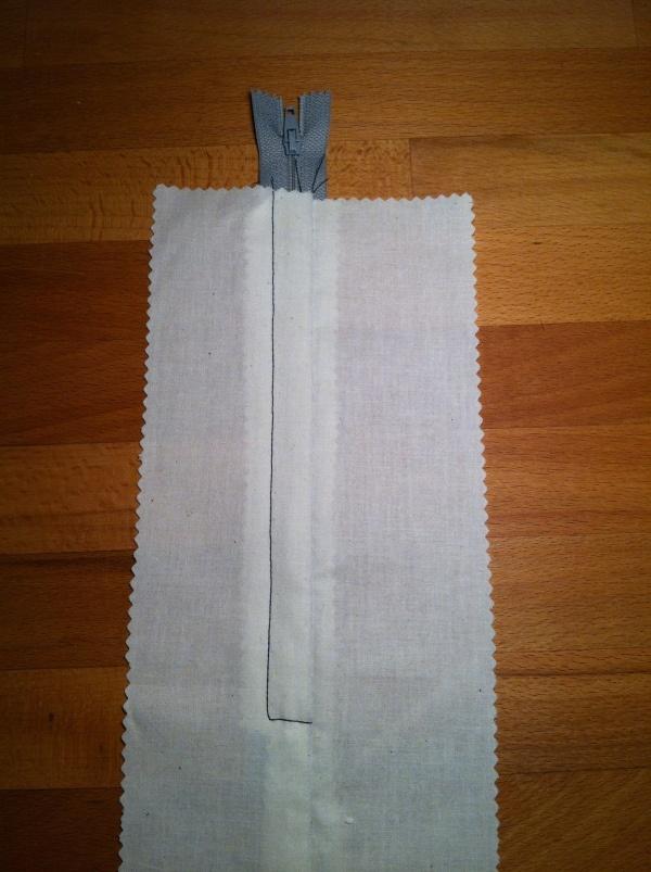 Sewing a lapped zipper - a good tutorial
