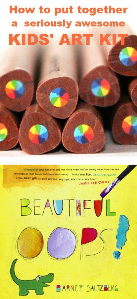 Kids Art Kits :: 6 DIY Gifts to Inspire Creativity