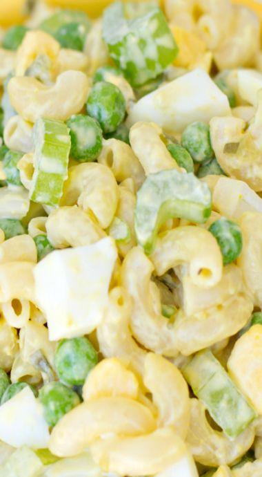 Classic Macaroni Salad but make it with gluten free pasta!