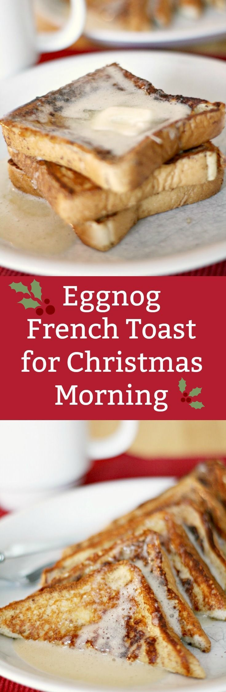 Best 25 french christmas food ideas on pinterest french sweets if you love seasonal flavors this easy eggnog french toast recipe is perfect make forumfinder Choice Image